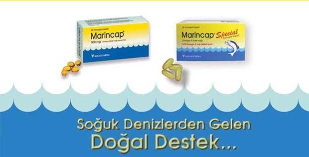 Marincap Balık Yağı Hapı Hakkında Bilgilendirme