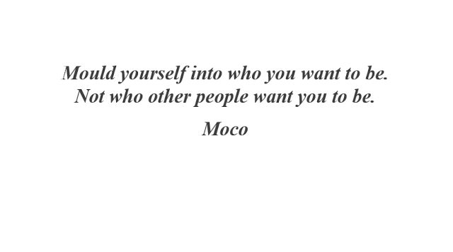Miss Moco: Mould yourself