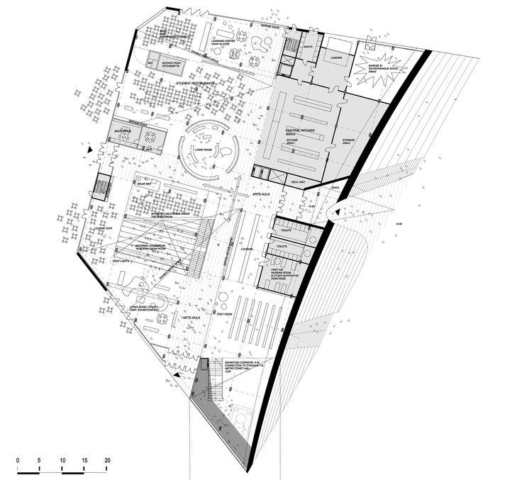 Hipsterkasbah (Otaniemi Campus, Aalto University) / ALA Architects  floor plan