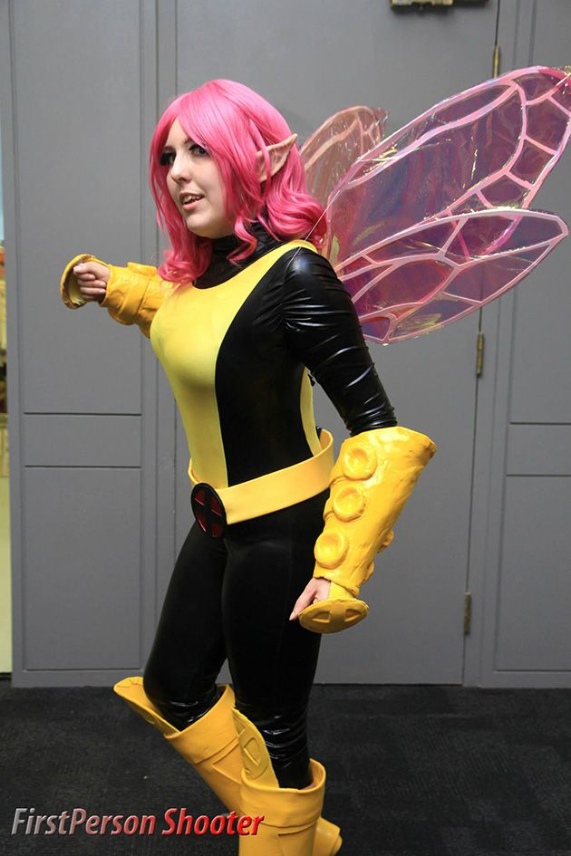 Pixie from X-Men cosplay