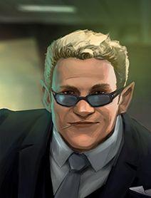 Dwarf Male Shadowrunners Portraits from Shadowrun Returns and Shadowrun Dragonfall. Shadowrun Portrait Posts