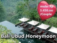 Have a relaxing honeymoon with this Bali Ubud Honeymoon Package. Many options of Ubud resorts available.