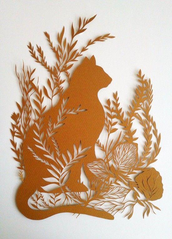 Papercut by Monique van Uden