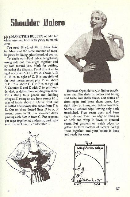 sewing magic bolero