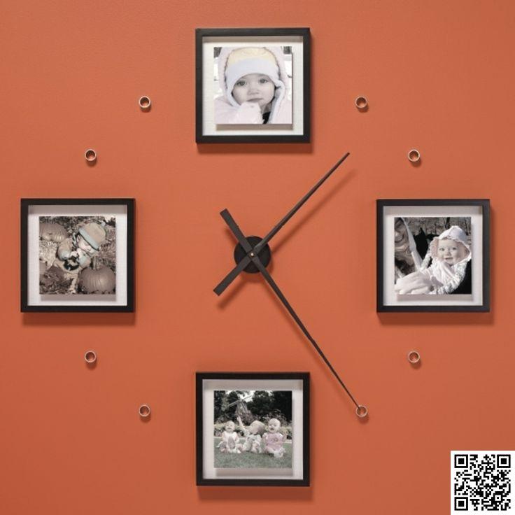 9 #Incredibly Fantastic DIY Large Wall #Clocks ... → DIY #Large