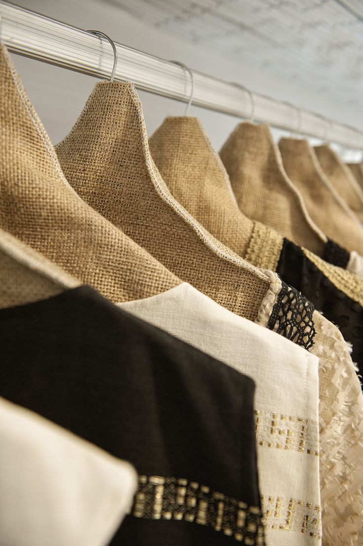 The 'Electra' fabric.. Unique 'ergon Mykonos bordures.. Handmade collection of the highest quality materials