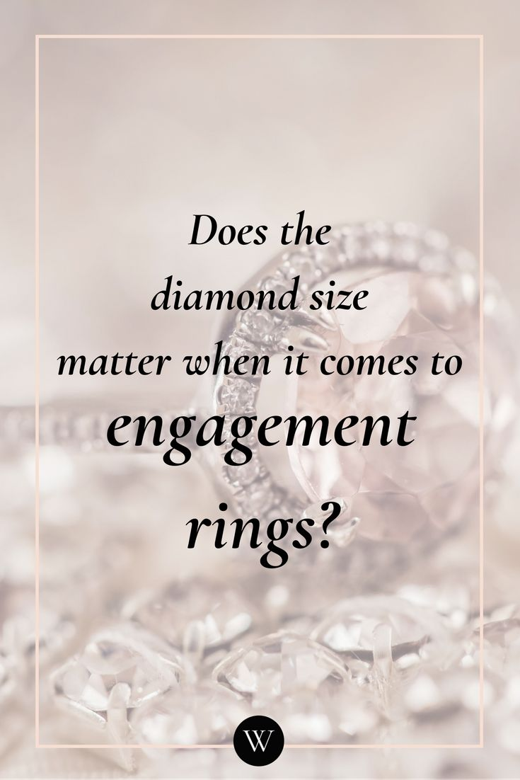 All women want to have an engagement ring that is perfectly suited to them. For men that plan to purchase the ring, it is important to understand that the size of the diamond doesn't matter. But you should understand the expectations of your partner when it comes to getting an engagement ring. Here are some things that you should keep in mind.