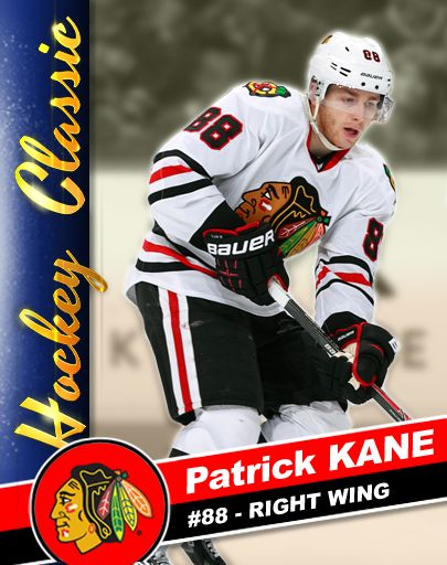 You can collect KANE CARDS in Patrick Kane's Hockey Classic, here's #4 - MAKES THE ASSIST