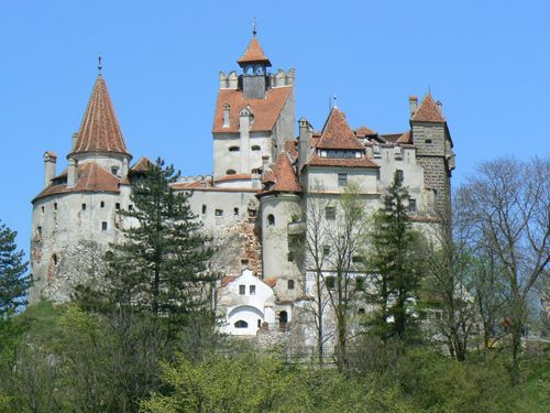"""Perched on a cliff near Brasov in central Romania, it is a major tourist attraction, largely because of its ties to Prince Vlad the Impaler, the warlord who inspired Bram Stoker's 1897 novel, """"Dracula."""" Legend has it that Vlad spent one night at the castle in the 1400s ...Bran Castle, Romania"""