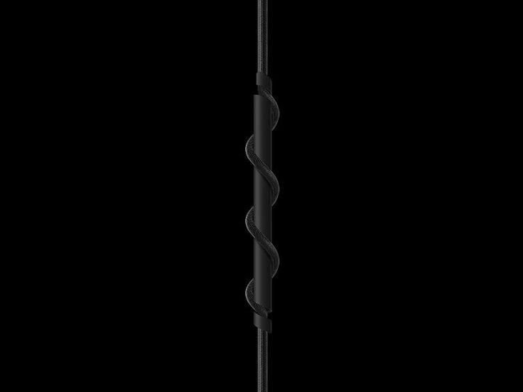 VITA Spinner matt black - with black cord