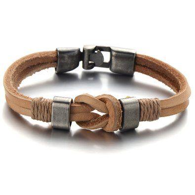 bracelet de cuir pour hommes - Google Search