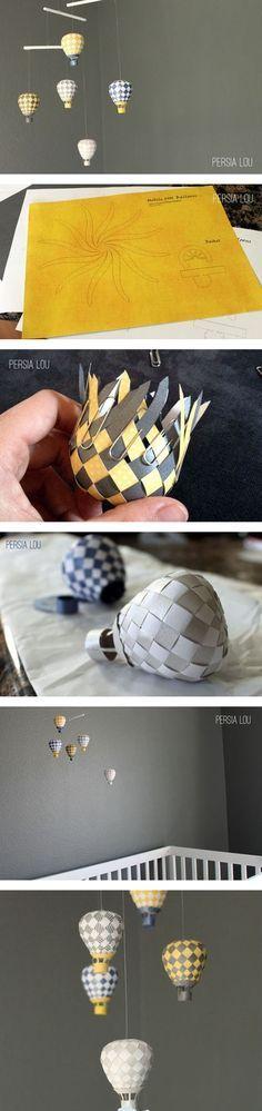 Diy Cute Fire Balloon   DIY & Crafts