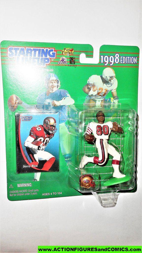 Starting Lineup Jerry Rice 1998 San Francisco 49ers Football Sports Moc San Francisco 49ers Football San Francisco 49ers 49ers Football