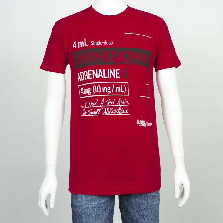 Shinedown Tour Shirts