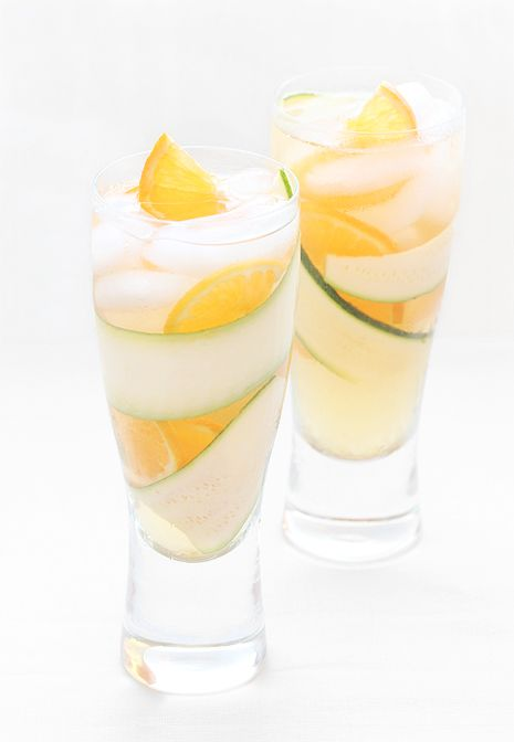 Clementine Cooler ~ A sweet & sour vodka chill with Clementine tangerines and club soda....ahhh refreshing!