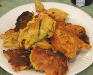 [On déguste] Falafel à la farine de pois chiches cf moulin cornille - Cuisine plurielle @cuisinplurielle