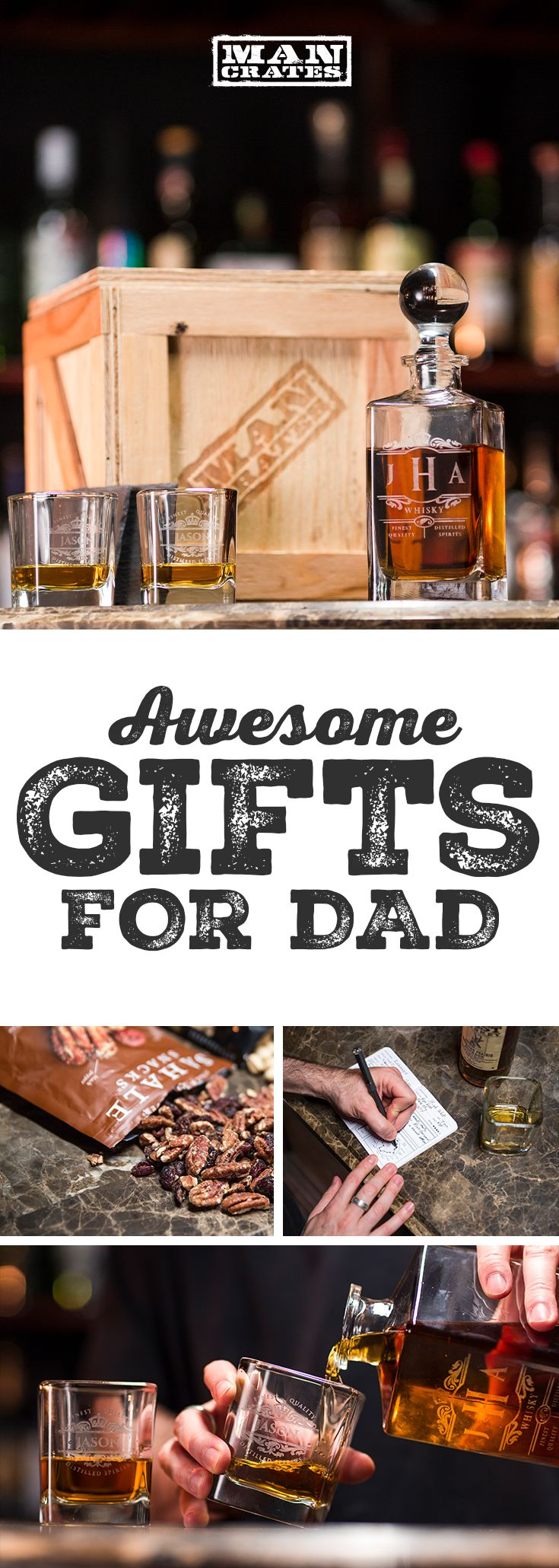 If you're looking for a Father's Day gift guaranteed to delight your dad, look no further. We make unique gift collections designed for all types of guys. Our gifts are built to thrill, and every gift comes with a 100% satisfaction guarantee to ensure your pops has the perfect Father's Day.