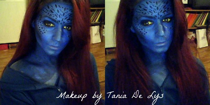 Mystique x-men makeup