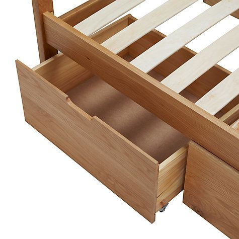 Buy John Lewis Ollie Storage Bed, Kingsize, Oak Online at johnlewis.com