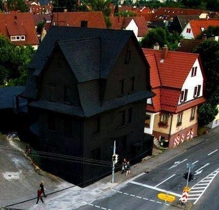 Så snyggt hus.