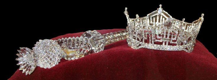 Miss America Crown: Waterford Crystal