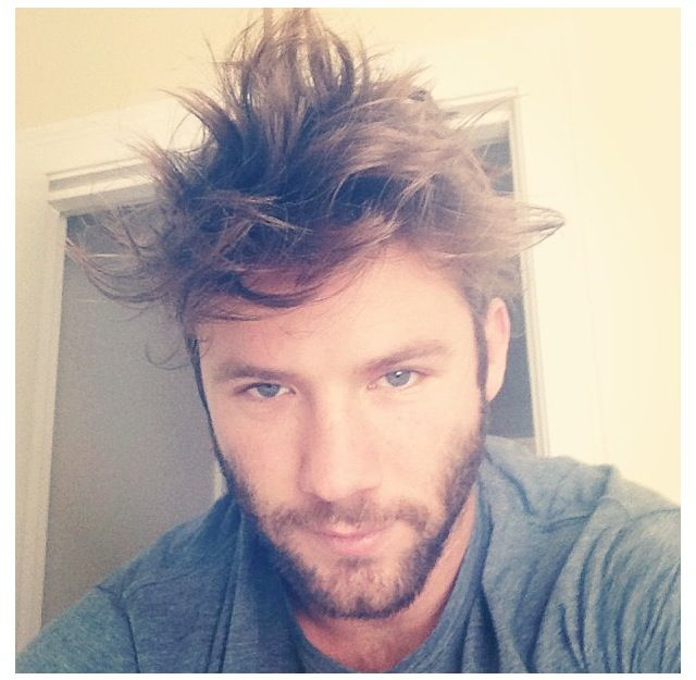 Julian Edelman! Bed head!!!! Patriots!
