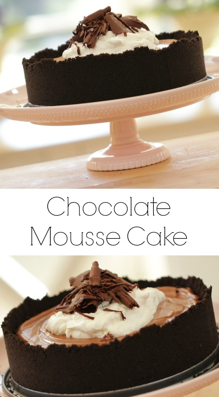 chocolate mousse cake chocolate mousse cake chocolate desserts good ...