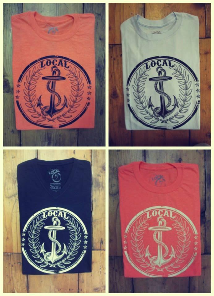 Local#anchors#t-shirts