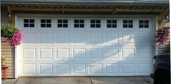 Garage Doors Stickers Garage Door Decals Stylish Windows Faux Window In 6 Home Design Ideas Garage Door Windows Garage Doors Garage Decor