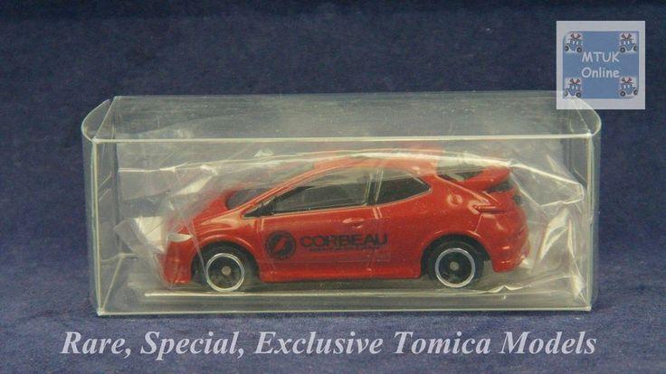 TOMICA 054J HONDA CIVIC FN2 TYPE-R | 1/68 | EXCLUSIVE TRIAL PIECE 2012 #JDM