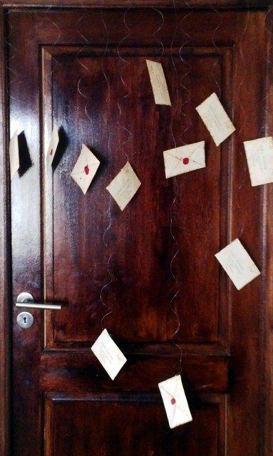 Flying Hogwarts Letters