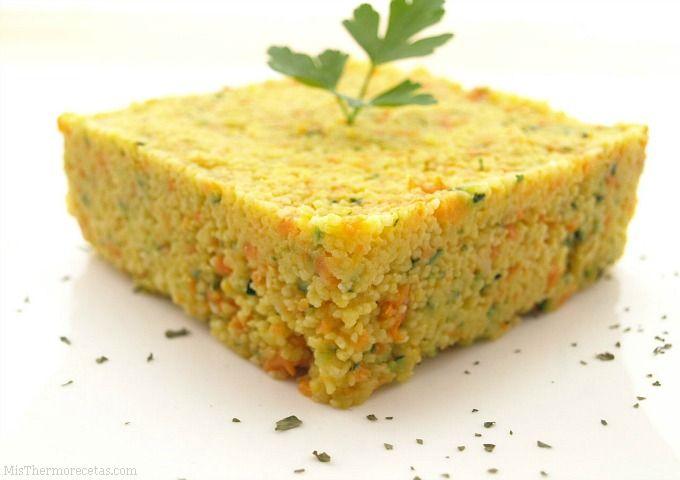 Cuscús con vegetales - MisThermorecetas.com