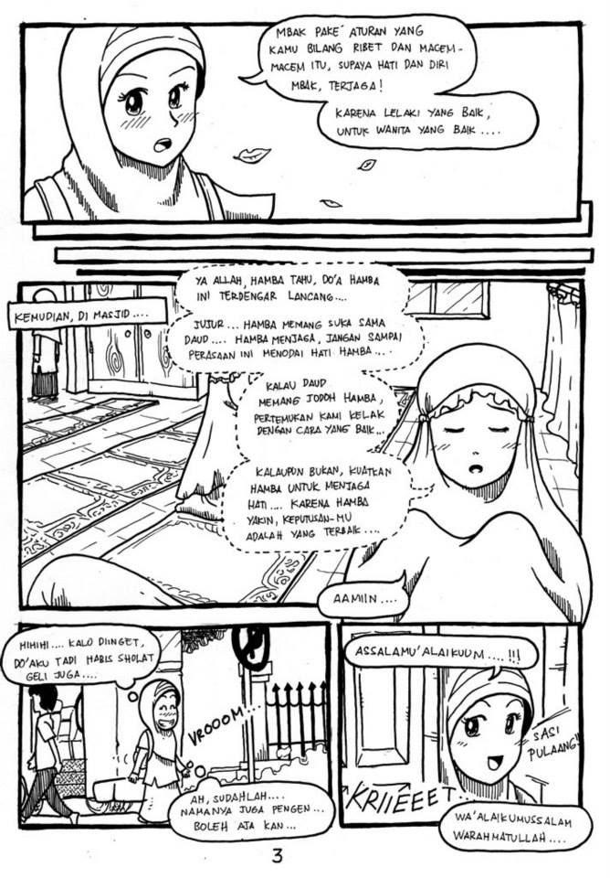page 3-Komik Buatan Rohis Unair