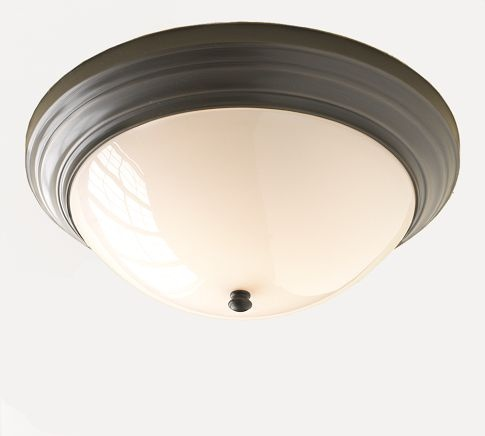 perfect in hallways...but...$129 at Pottery Barn?!: Bathroom Vanity Lighting, Ceiling Fixtures, Bathroom Lighting, Children, Ceilings, Flushmount Potterybarn, Mercer Flushmount, Pottery Barn, Bedroom Lighting