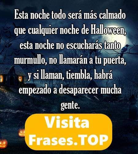 ✅😱 https://frases.top/frases-halloween/ 😱✅ #Frases de Halloween ¡¡Lista de #citas celebres para ser original!! Ven a ver éstas #palabras, #pensamientos, #textos y #reflexiones
