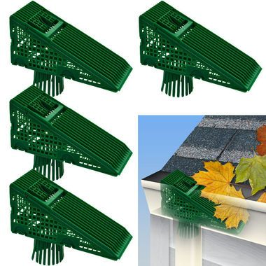 Ez Clean Downspout Screen Downspout Gutters Diy Gutters
