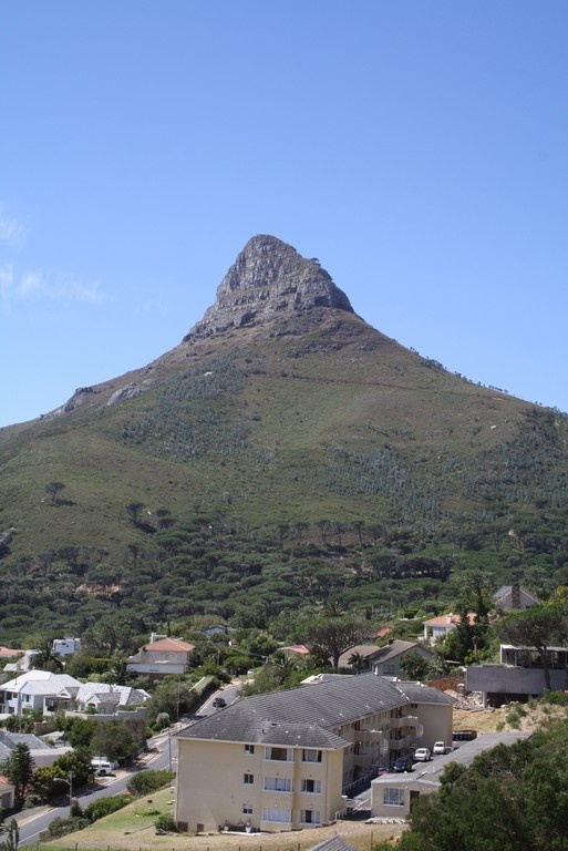 Lion's Head, another famous peak in Cape Town #capetown #southafrica