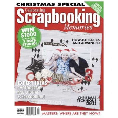 Australian Scrapbooking Memories – Volume15 No.3 (just $1.95). Find out more at: http://www.patchworkandcraft.com.au/digital-magazines/australian-scrapbooking-memories-volume15-no-3.html