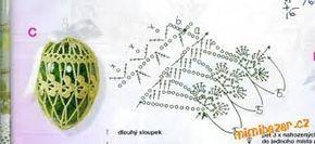 Výsledek obrázku pro háčkovaná vajíčka návod