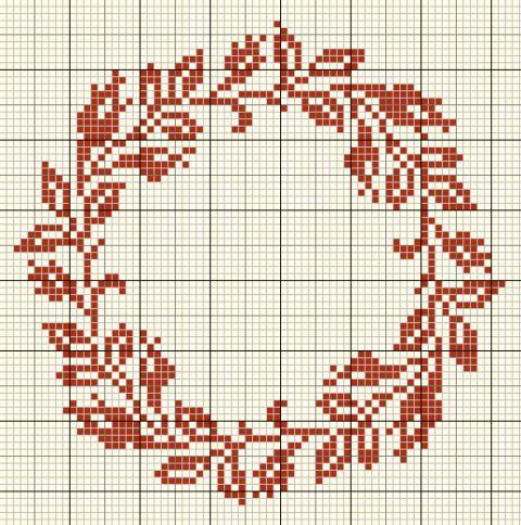 Le calendrier de l'Avent aux couronnes - Noël 2014 TRESORS DE BOITES A COUTURE