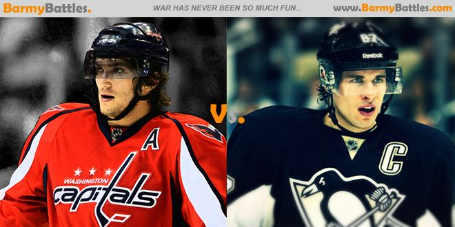 Alex Ovechkin vs Sidney Crosby. which player is better? #nhl #hockey #alexovechkin #sidneycrosby #alltimegreat   CLICK HERE TO VOTE: http://www.barmybattles.com/2014/03/20/alex-ovechkin-vs-sidney-crosby/