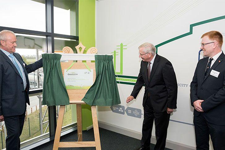 FCC Medio Ambiente inaugura en Reino Unido una estación de valorización de residuos.