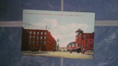 westinghouse electric & manufacturing company lackawanna R. R. depot newark N.J.