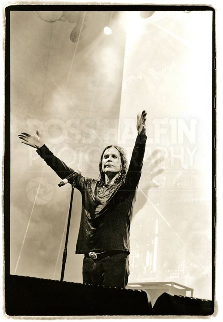 "Ross Halfin Photography on Facebook (21-Jul-2014): ""Ozzy Osbourne at BST Hyde Park 2014."""
