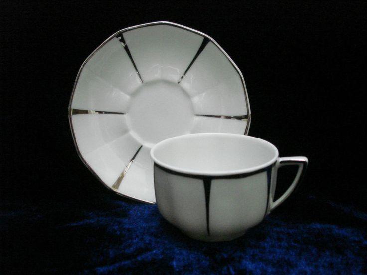 sold vendu keramis ebay ancienne tasse caf art d co porcelaine de limoges vintage. Black Bedroom Furniture Sets. Home Design Ideas