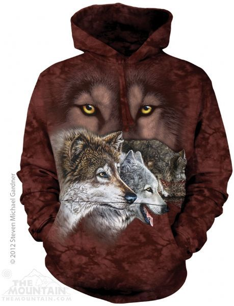 The Mountain Wolf Hoodie   Find 9 Wolves