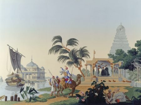 Zuber: India Style, Temples, Basildon Parks, Indian Ness, Murals Paintings, Wall Paintings, Zuber Wallpapers, Wall Treatmentmuralsfresco, Ntpl 91274
