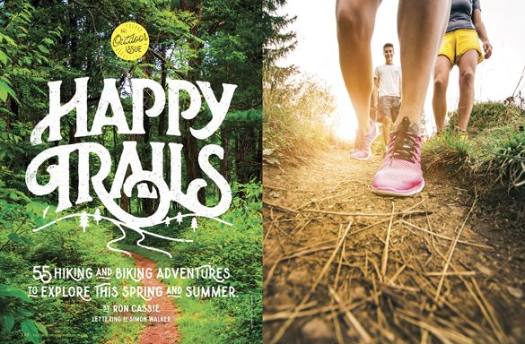 Baltimore Magazine. May 2016. Happy Trails. Lettering by Simon Walker.