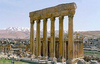 Baalbek im Libanon