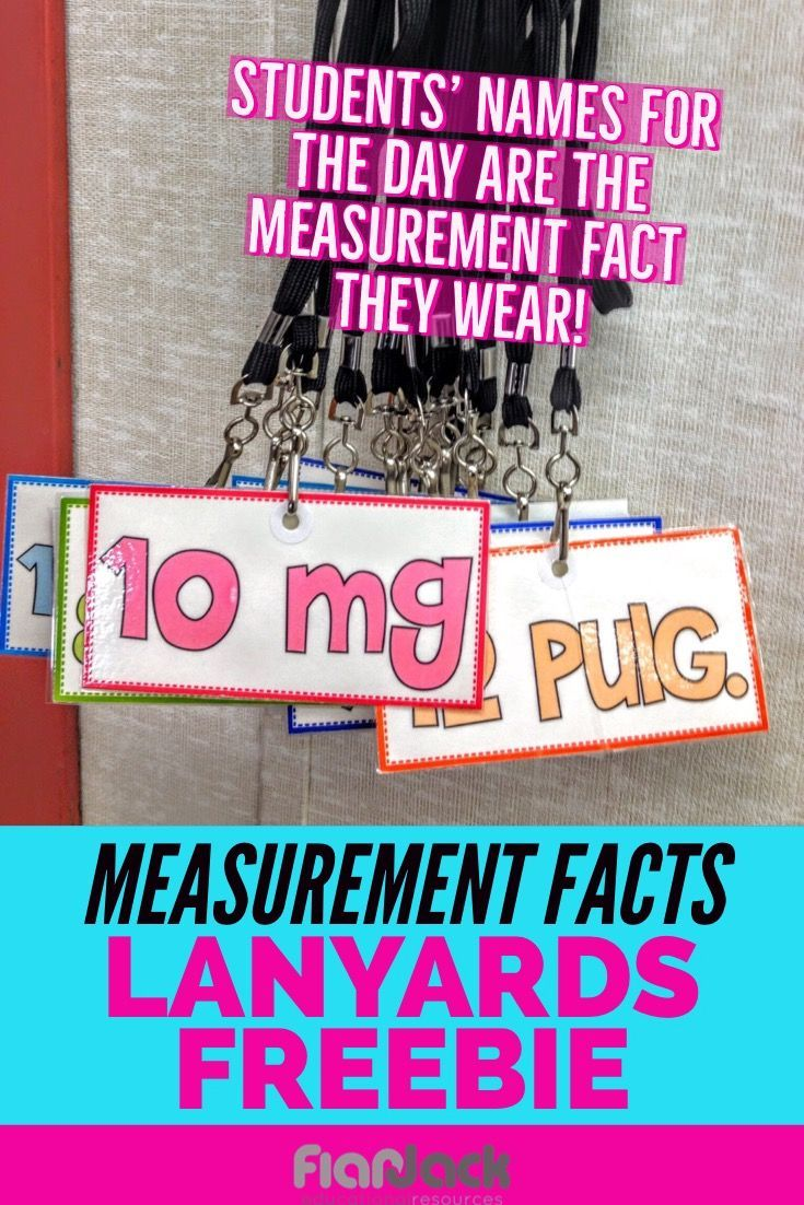 Measurement And Multiplication Facts Lanyard Tags Flapjack Multiplication Facts World History Teaching New Teachers [ 1102 x 735 Pixel ]